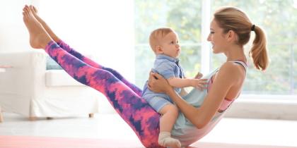 Kurs: Yoga nach der Geburt / Mami Baby Yoga